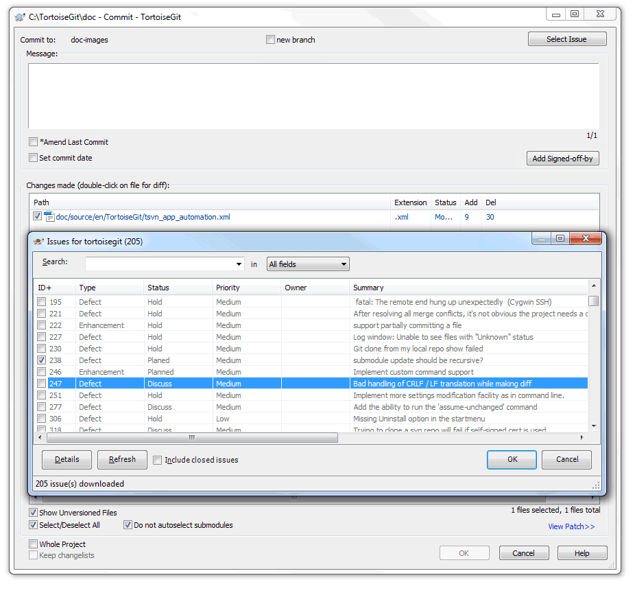 Integration with bug tracking systems issue trackers example issue tracker query dialog baditri Gallery
