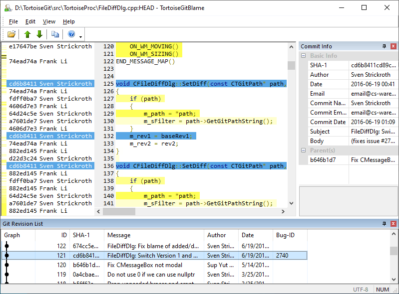 Screenshots – TortoiseGit – Windows Shell Interface to Git